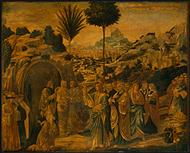 The Raising of Lazarus by Benozzo Gozzoli, 1497.