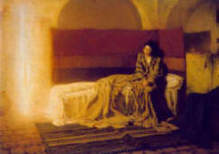 The Annunciation by Henry Owassa Tanner, 1898