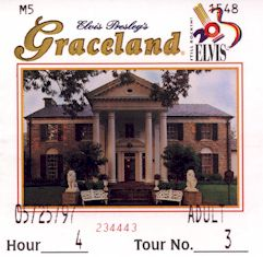 Graceland ticket